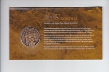 2010 KOKODA MEDALLION Australia Papua New Guinea Remember Rising Sun Military