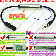 FM AM Signal Amp Amplifier Booster TO Car Stereo Antenna Radio Market DVD player