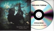 EMILIANA TORRINI Jungle Drum 2009 UK 1-track promo CD