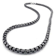 Mens Biker Stainless Steel Chain Necklace