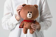 Mobile Game LINE RANGERS SUPER BROWN Plush Toy Stuffed Character Doll 10""