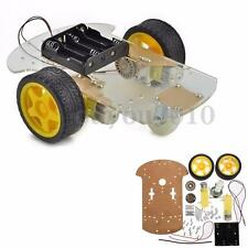 Smart Motor Robot Car Chassis Kit Battery Box DIY Speed Encoder For Arduino