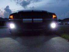 Halo Fog Lamps Driving Lights Kit for 2005-2012 Ford Mustang Shelby GT500 Bumper