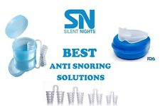 Anti-Snoring Solutions - Stop Snoring and Teeth Grinding –Value Pack