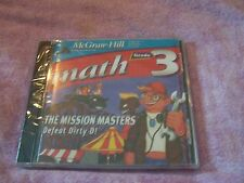 McGraw-Hill Math Grade 3~The Mission Masters DEFEAT DIRTY D! Grade 3 sealed