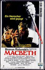 """VHS - neu & ovp - """" Roman Polanski`s - MacBETH """" (1971) - Jon Finch"""