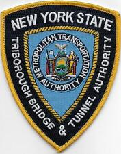NEW YORK STATE TRIBORO BRIDGE TUNNEL AUTHORITY TBTA POLICE TOLL METRO MTA PATCH