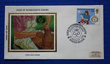 """Great Britain (953) 1981 Duke of Edinburgh's Award Colorano """"Silk"""" FDC"""
