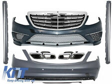 Complet Body Kit Mercedes Benz W222 S-Class 13+ S65 S63 AMG Look+Exhaust Tips