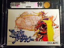 Final Fantasy Unopened Only First Print Ever Graded Wow! Famicom FC NES 1987