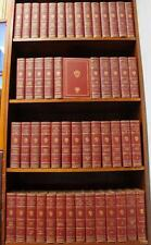 1909 HARVARD CLASSICS Leather SET 1ST ED Rare SIGNED Illustrated LIMITED Vtg