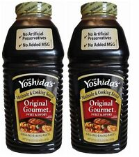 2-86oz Jugs ~MR. YOSHIDA's ORIGINAL GOURMET COOKING SAUCE EXPEDITED SHIPPING