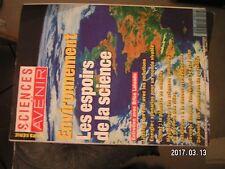 ** Sciences et Avenir HS n°83 Seveso Bhopal Tchernobyl / Pluies acides