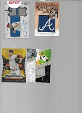 2012 Topps Commerative Patch John Smoltz Insert
