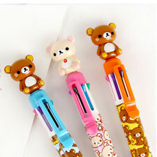 1pcs Cute Rilakkuma Decoration 8colors in a Ball Point Pen 0.7mm school supply