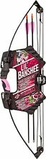 Lil Banshee Youth Compound Bow and Arrow Archery kit Pink kid starter set girls