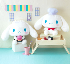 2017 NEW 2 BIG San-X Cinnamoroll Plush Cafe Chef Maid Stuffed Japan Sanrio Cute