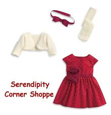 American Girl Maryellen's Christmas Party Dress Outfit NIB Complete