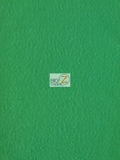 SOLID POLAR FLEECE FABRIC (ANTI-PILL) - Kelly Green - SOLD BTY 60""