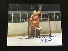 PHILADELPHIA BLAZERS BERNIE PARENT AUTOGRAPHED 8X10 PHOTO #2 W/COA