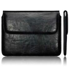 Slim Black Leather Sleeve Carry Case Pouch Cover for Apple iPad 2 /3 /4