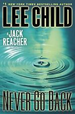Jack Reacher: Never Go Back by Lee Child (2013, Hardcover)