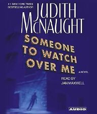 Someone to Watch over Me by Judith McNaught (2003, CD, Abridged) Used