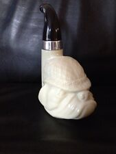 Avon Wild Country Cologne Bottle Pipe Decanter Sherlock Holmes Bull Dog