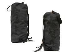 Military Army Waterproof Surplus Bag Duffle Bag Backpack Navy Black 42L Black