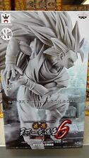 DRAGON BALL Z GOKU GOKOU SS3 SCULTURES 6 BLACK WHITE ver FIGURA FIGURE NUEVA NEW
