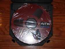 "BRAND NEW RED ATR MASTER TAPE 1/4"" 10.5"" METAL REEL TO REEL AKAI TEAC 3M L@@K!"