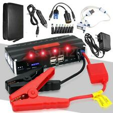 4USB Car Jump Starter Power Bank 12V 68800mAh Multi-Function Rechargable Battery