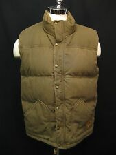 The North Face Newtok Brown Goose Down Puffer Mens Brown Vest L