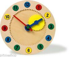 LEARNING CLOCK MAGNETIC PAY NEW