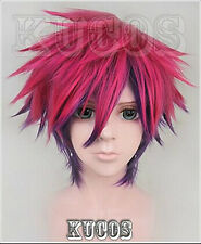No Game No Life Sora Short Anime Cosplay Costume Wig +Free Shipping