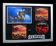 TREMONTI+SIGNED+FRAMED+DUST+CREED+ALTER BRIDGE=100% AUTHENTIC+FAST GLOBAL SHIP