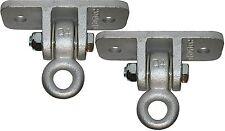 Backyard Recess Porch Swing Hanging Hooks - Metal   1 Pair