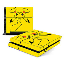 Skin Decal Cover Sticker for Sony PlayStation 4 PS4 - Pokemon Pikachu