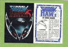 1992 SHADOW HAWK Complete Trading Card Set #1-90  Comic Images