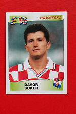 Panini EURO 96 N. 350 HRVATSKA SUKER New With BLACK back TOPMINT!!