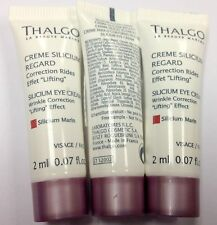 Lot of 5pcs Thalgo Silicium Eye Cream 2ml 0.07oz sample #usautt