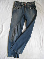 ONLY Damen Blue Jeans Denim W26/L30 Gr.34 low waist regular fit twisted leg