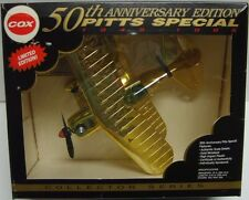 PITTS SPECIAL Pee Wee .020 Model Airplane COX 50th Anniversary Special #000284