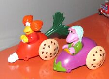 McDonalds Vintage 80's Fraggle Rock Veggie Cart Lot