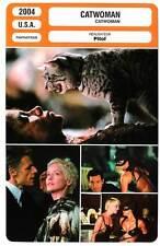 CATWOMAN (FICHE CINEMA) H.Berry,S.Stone,L.Wilson,Pitof 2004