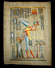 Egyptian Papyrus genuine hand painted Akhnaton