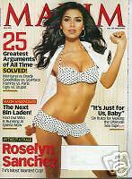 Maxim Magazine May 2007 ROSELYN SANCHEZ Raquel Alessi Without A Trace