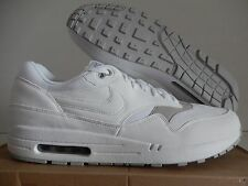 NIKE AIR MAX 1 WHITE-WHITE-GRANITE SZ 13 [308866-107]