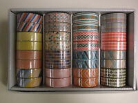 New Washi Tape Patterned  15mm x10m Roll  Sticky Paper Masking Tape Adhesive