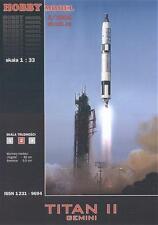 Hobby Model 83 - Rakete Titan II mit Satellit Gemini 1:33